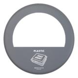 BL27 Lock Take Away Plastic grå matt