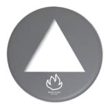 BL28 Lock Brännbart grå matt