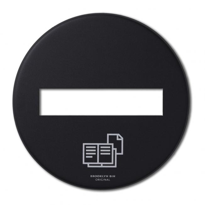 BL30 Lock papper svart matt