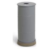 BB1G-CZ BROOKLYN BIN med betongfot grå