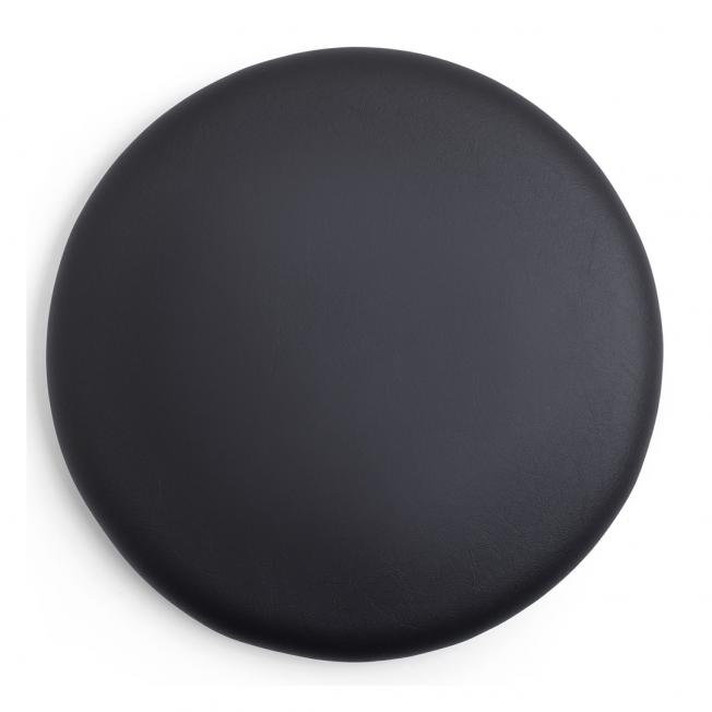 03 Sits svart konstskinn