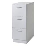 VR05-W TOR vit lådskåp med 3 st lådor